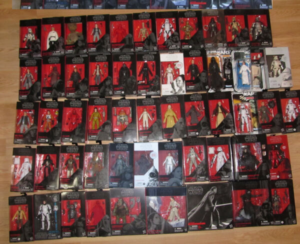 Star Wars BLACK SERIES ACTION FIGURES Hasbro Collector's 6 Inch Scale Various