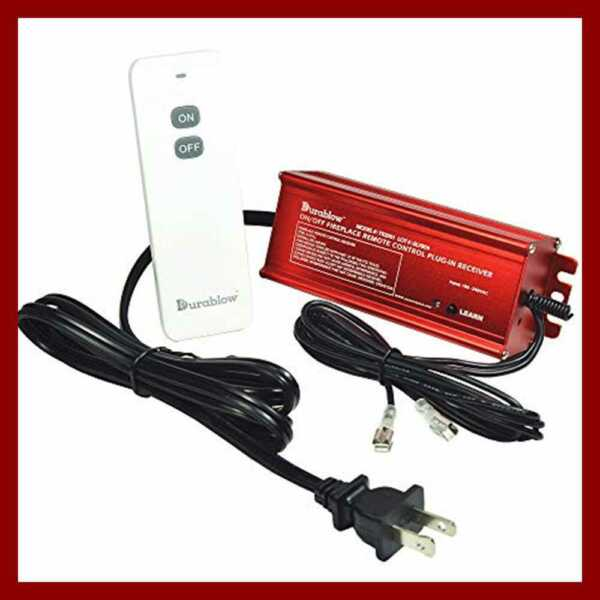 TR2001 Gas Fireplace OnOff Remote Control Kit For Millivolt 100 240VAC