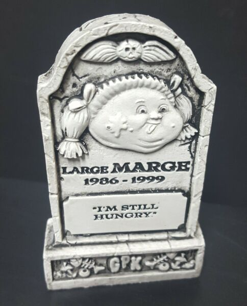 2019 Garbage Pail Kids Revenge of oh the Horror-ible tombstone Large Marge