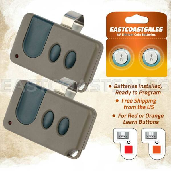 2 For Craftsman Garage Door Opener 3 button Remote HBW1255 139.53681B 390MHz $19.75