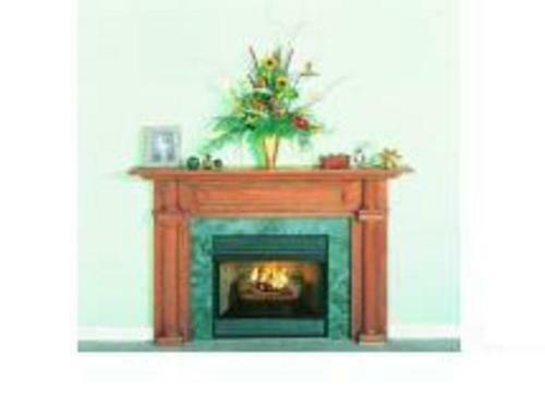 78 x 16 x 10 Fireplace Surround with 42'' Legs wood mantel oak or white