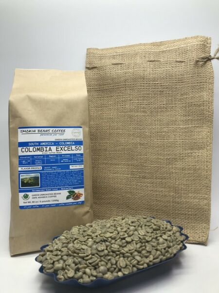1lb30lb - Colombia – Specialty Grade – Premium Unroasted Green Coffe