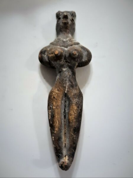 Indus Valley Terracotta Venus Goddess Idol Votive Statuette