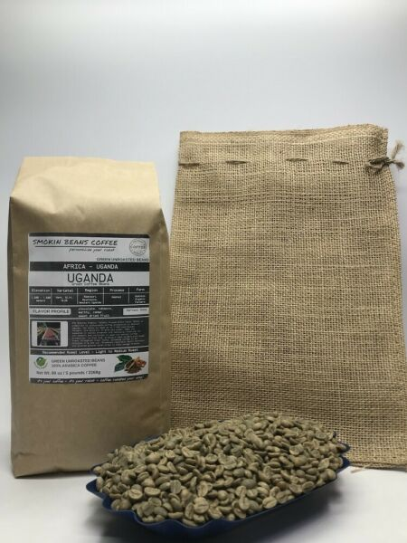 1lb30lb - Uganda AA – Specialty Grade – Premium Unroasted Green Coffee Beans
