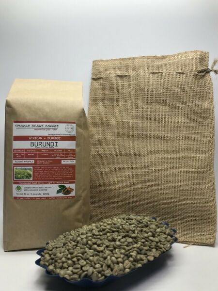 1lb30lb - Burundi - African Coffee – Premium Unroasted Green Coffee Beans