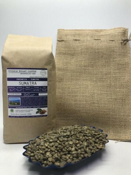 1lb30lb - Sumatra – Specialty Grade - Premium Unroasted Green Coffee Beans