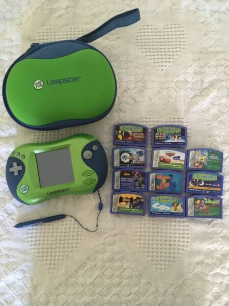 Leap Frog Leapster 2 With 11 Games Included
