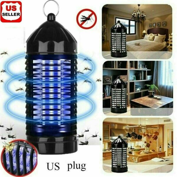 1 2PK Electric UV Mosquito Killer Lamp Outdoor Indoor Fly Bug Insect Zapper Trap $11.98