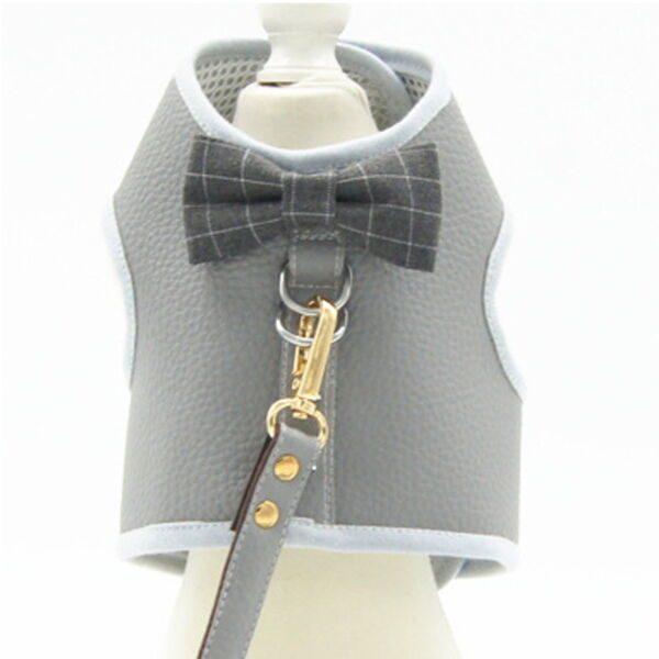 Fancy Holiday Dog Harness Dress Fancy Dog Cat Harness Vest Harness Fancy Pet $10.95