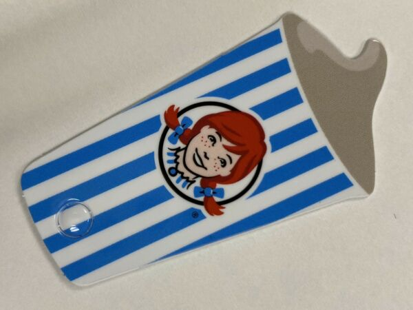 WENDY'S 2020 Keychain Card for One Jr. Frosty per Transaction Expired 123120