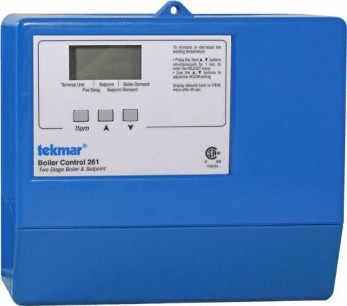 Tekmar 261 Two Stage Boiler Control $425.90