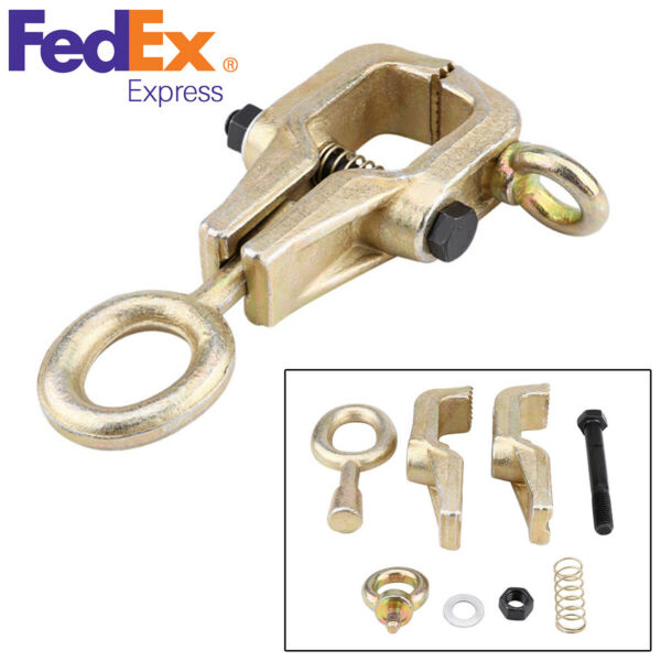 5 Ton Top & Straight 2-Way Self-Tightening Frame Grips Body Repair Pull Clamp
