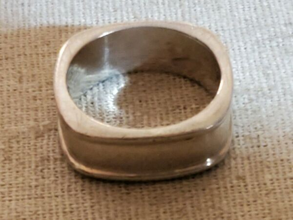 Cool Square Sterling Band Ring $26.00