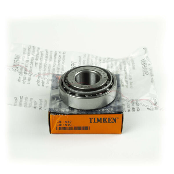 1 Pcs Timken  LM11949 & LM11910 Cup & Cone Tapered Roller Bearing New Free Ship