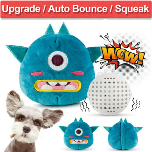Jumping Puppy Dog Toys Interactive Plush Chaser Automatic Shake Squeak Ball Toy $14.00