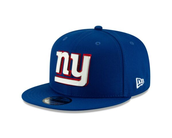 New York Giants New Era METAL AND THREAD 9Fifty Snapback Hat Royal