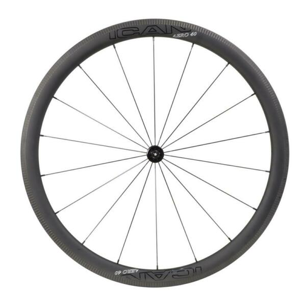 ICAN AERO40 Front Wheel Carbon Road Bike 18 Holes Sapim CX-Ray Spokes 568g