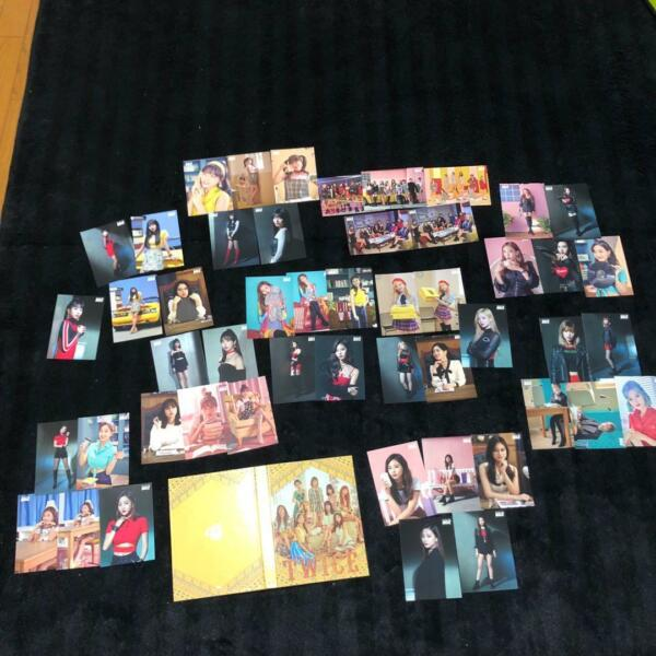 TWICE BDZ Release event All Member + Group photocard Complete SET 50 pcs + case