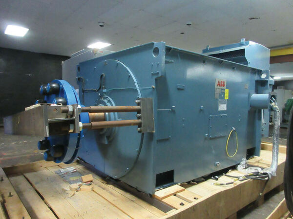ABB Wound Rotor 7500 HP 900 RPM ABB Electric Motor Wound Rotor Slip Ring NEW