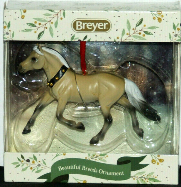 Breyer Horse - Fjord Ornament - 2019 Christmas Holiday Beautiful Breeds
