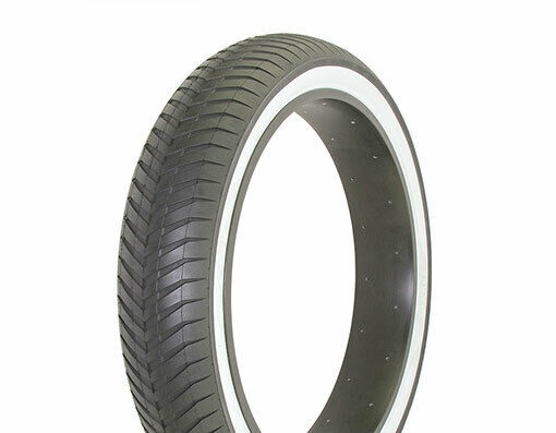 Duro 24quot; x 4 1 4quot; Bicycle bike Tire Black White Side Wall DB 9002 $34.00