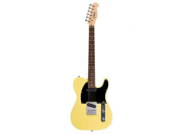 Monoprice Indio Retro Classic Electric Guitar - Blonde With Gig Bag