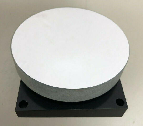 Round Mirror for Laser or Optical Setup 93mm diameter 18mm tick on heavy mount $59.98