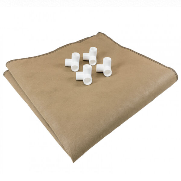 2#x27; x 4#x27; Grassroots Living Soil Fabric Raised Bed $68.99