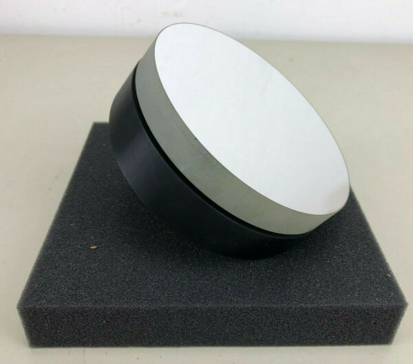 Round Mirror for Laser or Optical Setup 130mm diameter 18mm tick on heavy mount $79.95