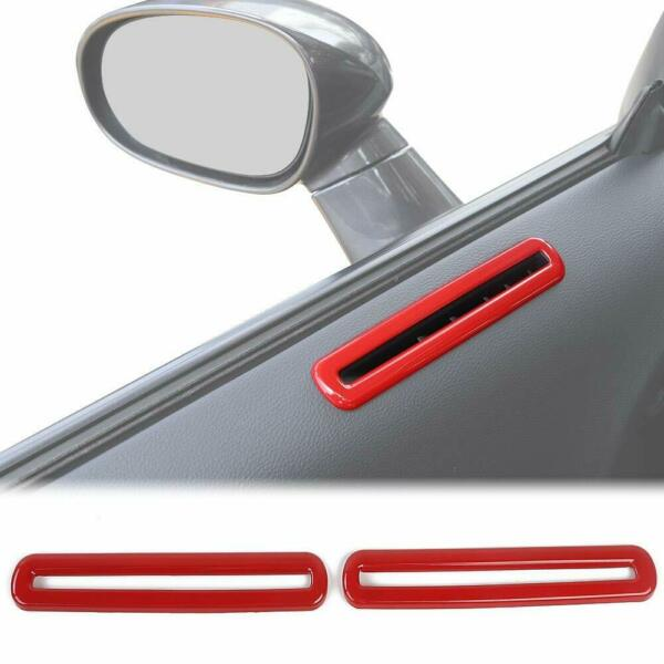 Car Door Air Condition Outlet Vent Trim Accessories for Dodge Challenger 2015-19