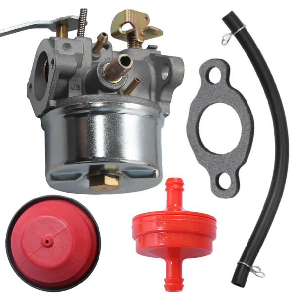 Carburetor Kit For Tecumseh 640086 632641 632552 632557 3HP 2 Cycle Engine