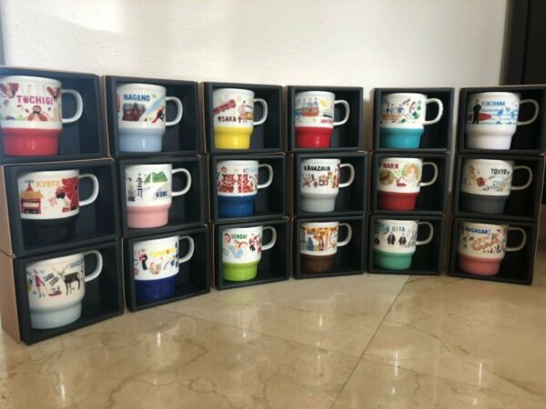 Starbucks Mugs JAPAN GEOGRAPHY SERIES Limited Collection New SKU 355ml.