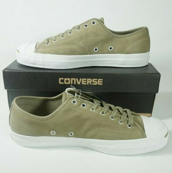 Converse Jack Purcell Pro Ox Tan Khaki White Zoom Sole Size 11 157863C