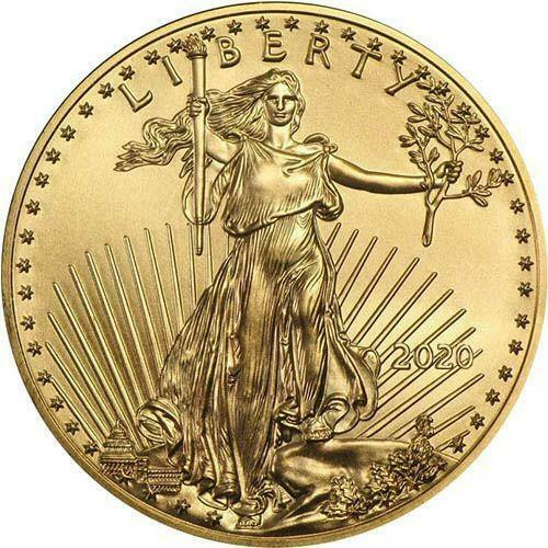 2020 US Gold Eagle 110 oz Coin