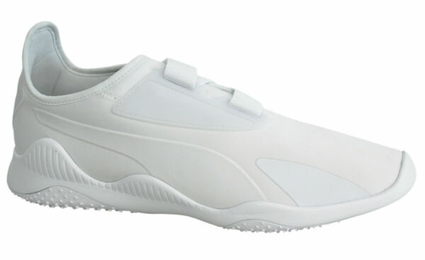 Puma Mostro White Strap Up Slip On Mens Running Trainers 362426 02 X7A