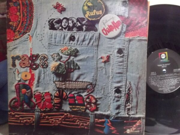 RUFUS FEAT. CHAKA KHAN RAGS TO RUFUS LP ON ABC   RECORDS