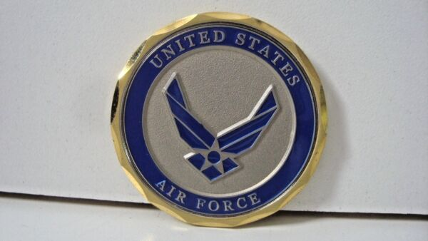 MotorDog69 Harley Cover Coin 2 Sided United States Air Force Retired Veteran P3 $26.99
