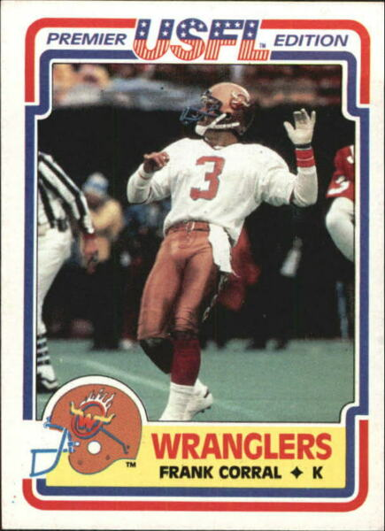 1984 Topps USFL FB Card #s 1-132 +Rookies (A5477) - You Pick - 10+ FREE SHIP
