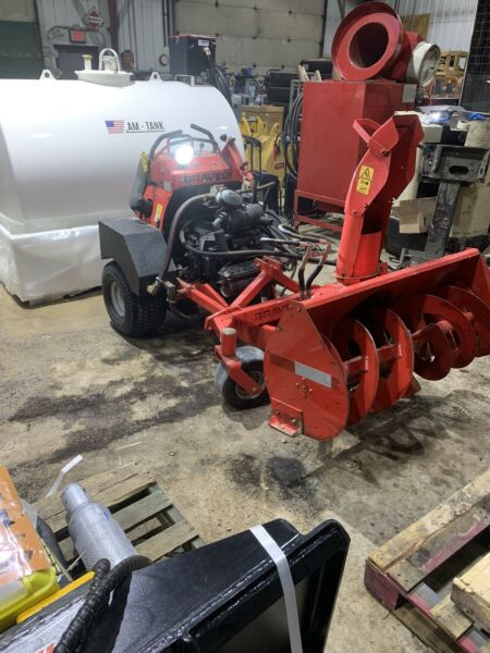 Gravely Stand On Snowblower Hydraulic Driven 27 Hp 28 Hours