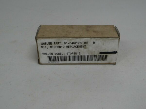 Whelen PN#: 01 0462389 00 STOPSN12 Replacement Kit Bulb New In Package *NOS*