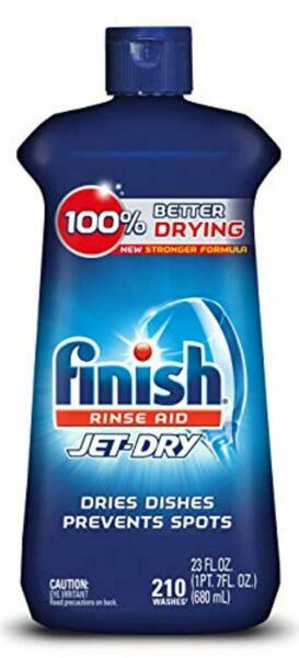 Finish Jet-Dry Rinse Aid 23oz Dishwasher Rinse Agent Drying Agent Best Sale