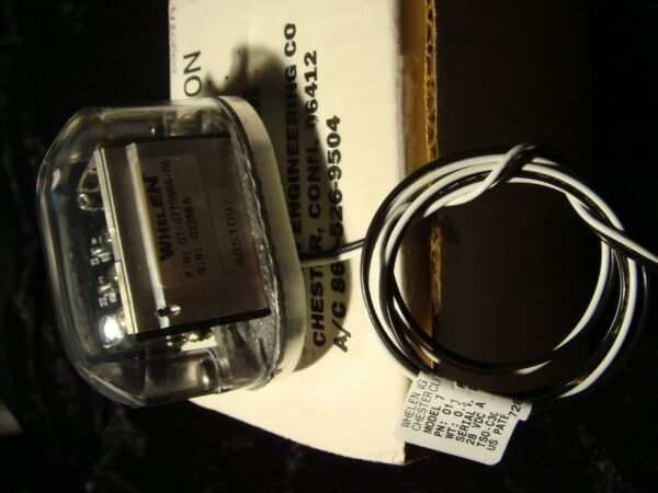 New NOS Whelen PN 01 0770966 00 28V LED Tail Position Light Assm Model 709660