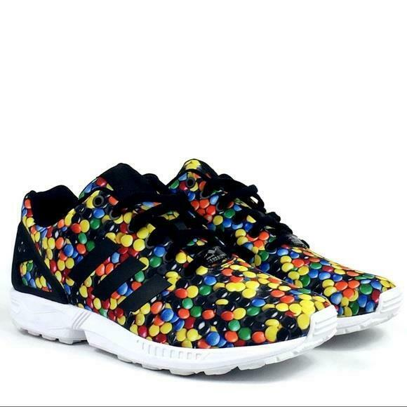 Adidas Limited Edition SKITTLES Candy ZX Flux Torsion Shoes Men's  NEW SOLD OUT