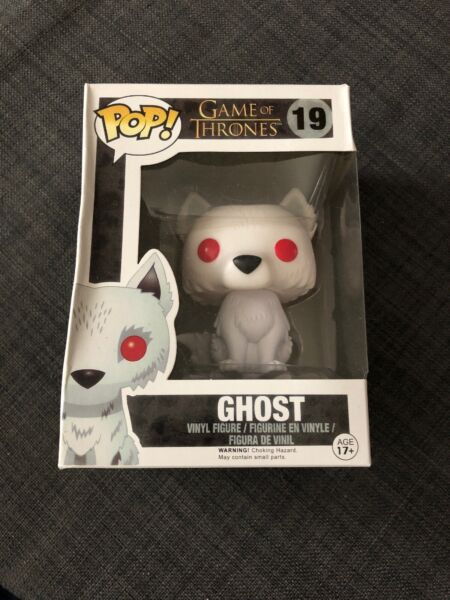 Funko Pop Game Of Thrones Ghost John Snow#x27;s Dire Wolf #19