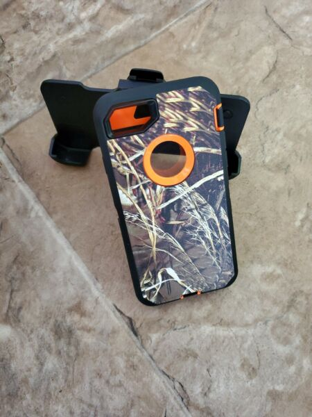 For iPhone 7 8Case camo Cover Belt Clip Fits Otterbox Defender Series $11.99