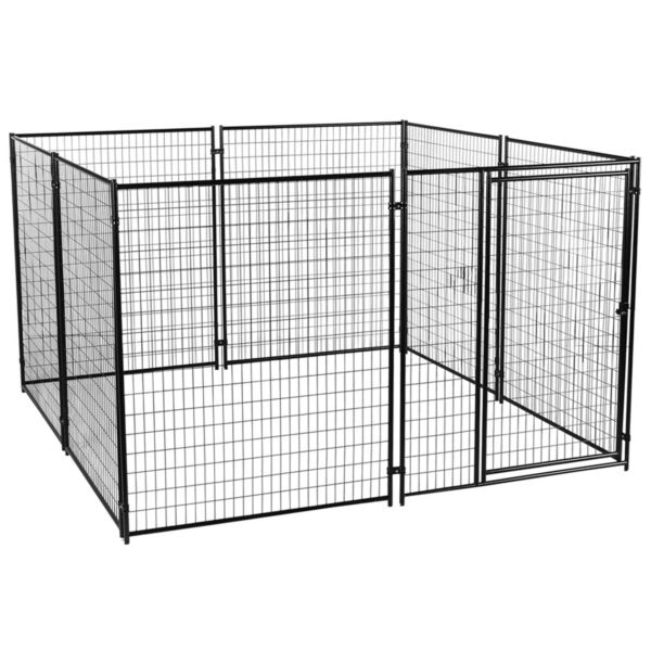 Lucky Dog Large Modular Welded Wire Indoor Outdoor Dog Kennel 10 x 10 x 6 feet $949.99