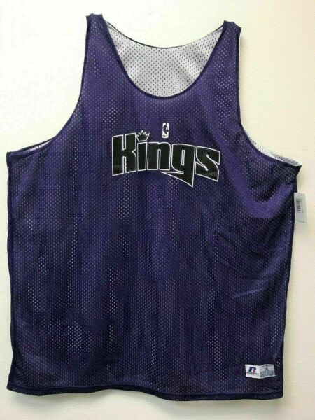 Sacramento Kings Reversible Jersey Russell Athletic Assorted sizes