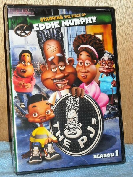 The PJs Season 1 (DVD 2011) Produced by Eddie Murphy animated comedy TV series