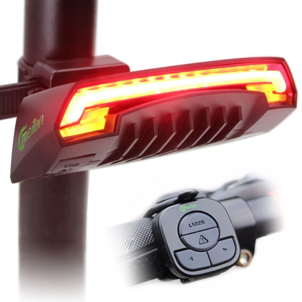 MEILAN X5 Wireless Remote Control Smart Bike TailLight Rear Light Automatic with $52.09