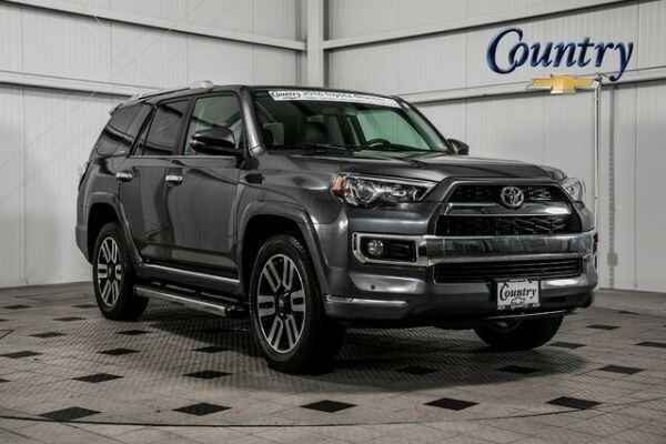 2016 Toyota 4Runner Limited 2016 Toyota 4Runner Limited 25820 Miles Magnetic Gray Metallic 4D Sport Utility
